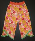 NEW Matilda Jane knit Relay Race lounge pants nuts & bolts flower straightees 10