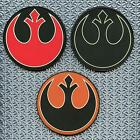 rebel alliance star wars rogue squadron cosplay PVC 3D rubber hook patch $8.95 USD