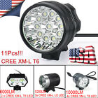 28000LM CREE XM-L T6/U2 LED Bicycle Light Headlight Rechargeable Head Lamp 18650