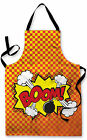 COMIC PHRASES DESIGN CHILDRENS APRON BAKING PLAY GREAT GIFT IDE L&S PRINTS