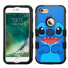 Lilo And Stitch Rugged Impact Armor Case for iPhone 5s/SE/6/6s/7/Plus/Galaxy/LG
