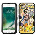 Pokemon Monsters Rugged Armor Case for Apple iPhone/Samsung Galaxy/LG/ZTE Phones