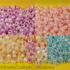 #6/0 - Pearl Finish Glass Seed Beads - 40 grams per Bag - Buy 3 bags get 2 FREE