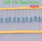 3W Metal Film Resistors ( ohm)1% ROHS 5pcs