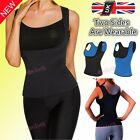 2017 Women Neoprene Body Shaper Slimming Waist Slim Belt Yoga Vest Underbust UK
