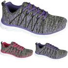 Womens Ladies lace Up Treadmill running Gym Workout jogging sports Trainers