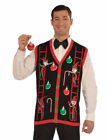 Adults Mens Decorating Elves Ugly Christmas Sweater Party Vest