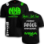 Stryker Shorts Sleeve Shirt  MMA UFC Muay Thai Boxing FREE Tapout Sticker Tee w