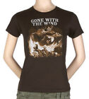 Gone With The Wind Chocolate Juniors Ladies T-Shirt