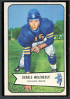 1954 Bowman Football #47 Gerald Weatherly EX 91909