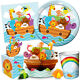 NOAH'S ARK Baby Shower Party Range {Creative} Tableware Balloons & Decorations
