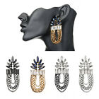 Fashion Jewelry Enthic Thread Tassel Crystals Dangle Stud Cocktail Party Earring