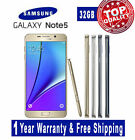 Samsung Galaxy Note 5 / Note 4 / Galaxy S5 Unlocked Phone Gold Blue Phone B20P