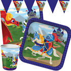 MEDIEVAL PRINCE Birthday Party Range - Knight Tableware Balloons & Decorations