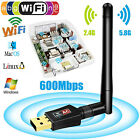 1200 /600/300 Mbps 2.4G Dual Band 802.11ac Wireless USB 3.0 WIFI Adapter Antenna