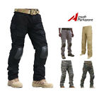 Airsoft Tactical Integrated Battle Pants with Detachable Knee Pads S-XXL BK/CB