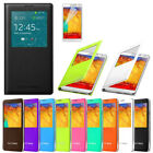 S View Premium Flip Case Cover For Samsung Galaxy Note 3 III N9005 , N9000