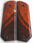 1911 FULL SIZE BOBTAIL CUT GRIPS COCOBOLO ED BROWN, Dan Wesson, Kimber X-62