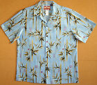 Chinese Baby Bamboo Men's vintage RJC aloha Shirt made in Hawaii