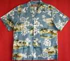 Distant Island Men's vintage RJC cotton aloha Shirt made in Hawaii