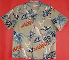 Wild Fern Men's RJC vintage aloha Shirt made in Hawaii