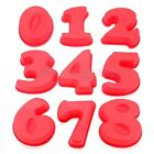 Number Cake Baking Pan Tin Silicone Mould Cake Bread Pie Pizza DIY Baking Mold