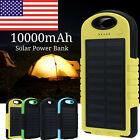 10000mAh Portable Solar Charger External Battery Mobile Phone Charger Power Bank