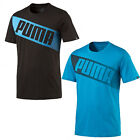 Puma FUN Big Logo Graphic Print Mens Crew Neck Tee T-Shirt 836573 OPP D106