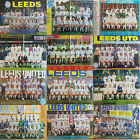 SHOOT football magazine team / squad A3 picture Leeds United- VARIOUS