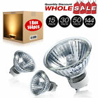 50W 120v MR16 EXN GU10 Flood FL w/ Front Glass Halogen Light Bulb US SELLER