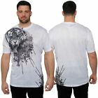 Juice Plus King Size Mens Short Sleeve T-Shirt Crew Neck Top White Printed Tee