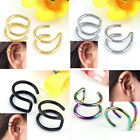 Non-piercing Cartilage Cuff  Ear Clip Earring Clip-on Earring For Unisex Jewelry
