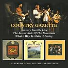 COUNTRY GAZETTE LIVE/SUNNY SIDE OF THE MOUNTAIN/WH-CD2 BGO NEU
