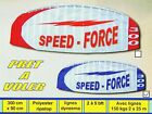 Cerf-volant voile de traction terrestre Speed Force 300, achat vente voiles neuf