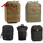 Tactical Hunting Compact Molle EMT Medical First Aid Utility Pouch Bag BK/CB/OD