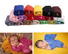New Baby Clothes Newborn Wrapped Swaddling Blanket Photography Props Accessories