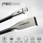 MICRO USB 2.0 ITEC ZINC DATA SYNC CHARGER CHARGING CABLE LEAD FOR SAMSUNG BLACK