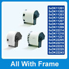 5 Compatible Roll Labels for Brother DK-11201/2/3/4/8/9 DK-22205/10/23 DK-11218