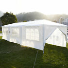 Outdoor Garden Gazebo Party Wedding Tent Marquee Shade Canopy White 3x3m / 3x9m