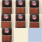 NFL Team Embossed Brown Leather Tri Fold Wallet Pick Your Team on eBay