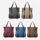 Vintage Women Mens Messenger Shoulder Bag  Handbag Purse Canvas Satchel Bag Tote