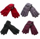 Ladies Thinsulate Fleece Feel Gloves - 4 Colours to Choose