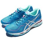 Asics Gel-Kayano 23 Blue Silver Women Running Shoes Sneakers Trainers T696N-4393