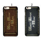 Once Upon A Time - Phone Cover Case - Fairy Tale Hard For iphone 6 & 7