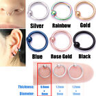 Surgical Steel Helix Tragus Daith Stud Ring Nose Ring Stud Belly Bar Piercing <br/> Buy 2 get 2 free-Add any 4 items tobasket-From 50p Each