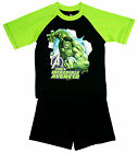 Boys Official Marvel Hulk The Incredible Avenger Shorty Pyjamas 3 to 10 Years