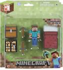 Brand New MINECRAFT OVERWORLD ZOMBIE  kids Action Figure Articulated Toy