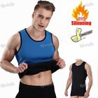 Mens Shaper Corset Belly Belt Slim Waist Trainer Cincher Vest Gym Sport Outdoor