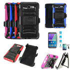 Phone Case For Samsung Galaxy J3 Emerge Holster Cover Tempered Class Screen