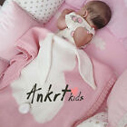 Knitted Soft Baby Swaddling Blanket Newborn Infant Cotton Swaddle Towel ZXY